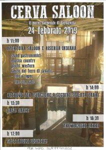 Cerva Saloon: il nuovo carnevale a Cervarezza