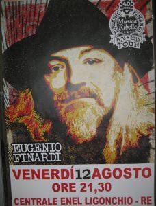 centrale Enel Ligonchio: concerto di Eugenio Finardi  12 agosto ore 21.30