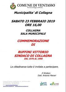 A Collagna commemorazione di Vittorio Ruffini